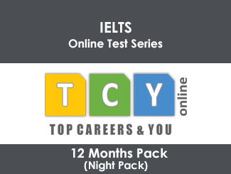 IELTS Online Test Series 12 Months Pack (Night Pack)