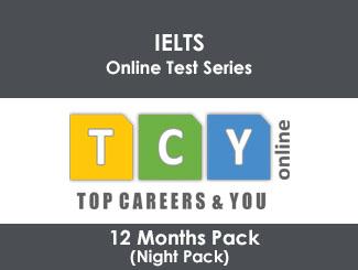 IELTS Online Test Series 12 Months Pack (Night Pack)