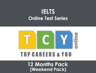 IELTS Online Test Series 12 Months Pack (Weekend Pack)