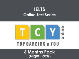 IELTS Online Test Series 6 Months Pack (Night Pack)