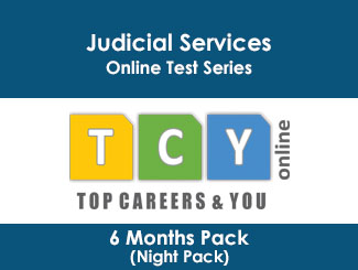 Judicial Services Online Test Series 6 Months Pack (Night Pack)