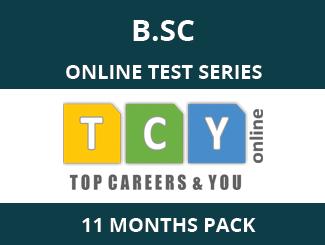 B.SC Online Test Series (11 Month Pack)