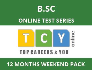 B.SC Online Test Series (12 Month Pack, Weekend Pack )