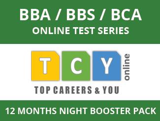 BBA / BBS / BCA Online Test Series (12 Months, Night Booster Pack)