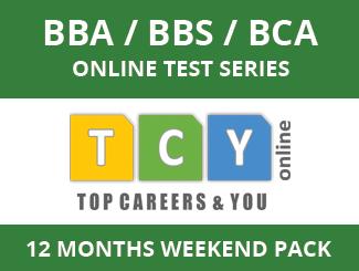 BBA / BBS / BCA Online Test Series (12 Months, Weekend Pack)