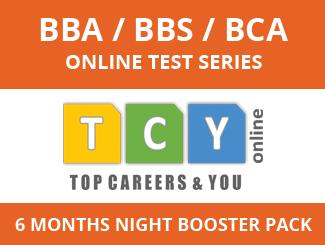 BBA / BBS / BCA Online Test Series (6 Months, Night Booster Pack)