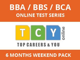 BBA / BBS / BCA Online Test Series (6 Months, Weekend Pack)