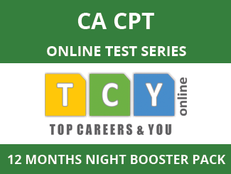 CA-CPT Online Test Series (12 Month Pack, Night Booster Pack)