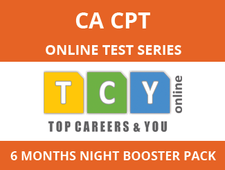 CA-CPT Online Test Series (6 Month Pack, Night Booster Pack)