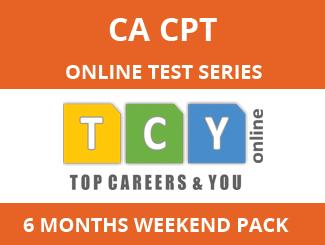 CA-CPT Online Test Series (6 Month Pack, Weekend Pack)