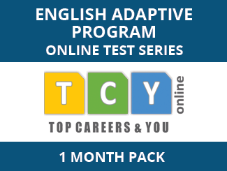 English Adaptive Program Online Test Series (1 Month Pack)