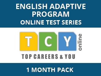 English Adaptive Program Online Test Series (1 Month Pack)