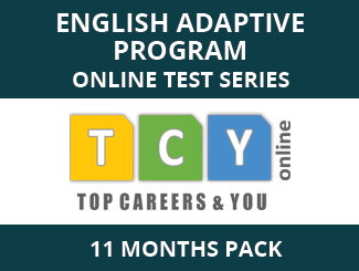 English Adaptive Program Online Test Series (11 Month Pack)