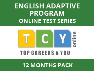 English Adaptive Program Online Test Series (12 Month Pack)