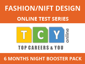 Fashion/NIFT Design Online Test Series (6 Month Pack, Night Booster Pack)