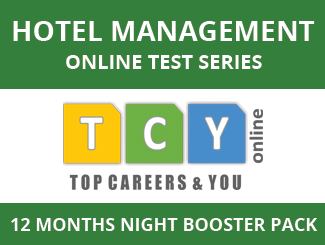 Hotel Management Online Test Series (12 Months, Night Booster Pack)