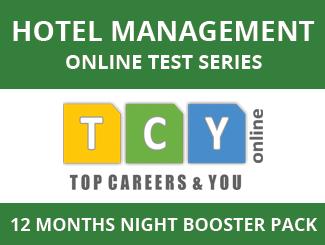 Hotel Management Online Test Series (12 Months, Night Booster Pack)