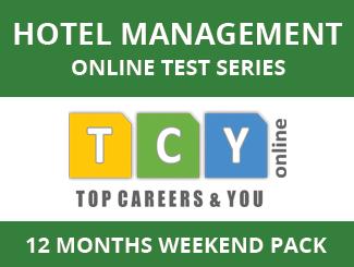 Hotel Management Online Test Series (12 Months, Weekend Pack)