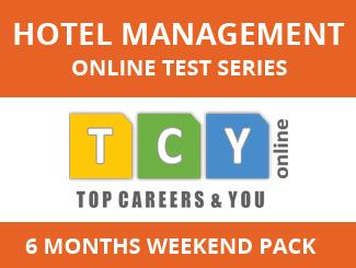 Hotel Management Online Test Series (6 Months, Weekend Pack)