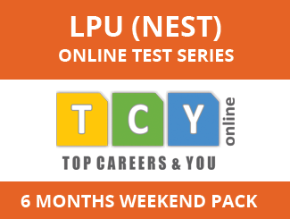 LPU (NEST) Online Test Series (6 Months, Weekend Pack)