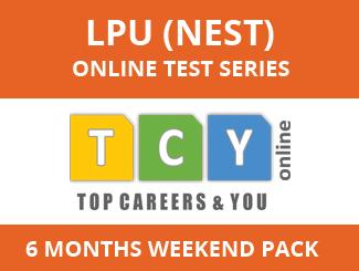 LPU (NEST) Online Test Series (6 Months, Weekend Pack)