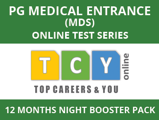 PG Medical Entrance (MDS) Online Test Series (12 Months, Night Booster Pack)