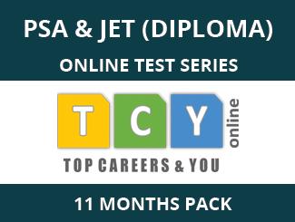 PSA & JET (Diploma) Online Test Series (11 Month Pack)