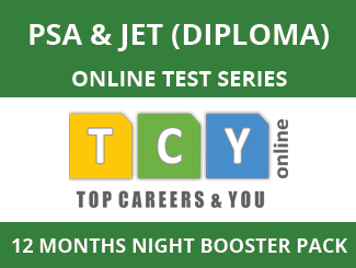 PSA & JET (Diploma) Online Test Series (12 Month Pack, Night Booster Pack)