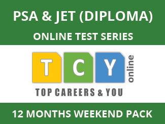 PSA & JET (Diploma) Online Test Series (12 Month Pack, Weekend Pack)