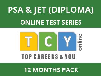 PSA & JET (Diploma) Online Test Series (12 Month Pack)