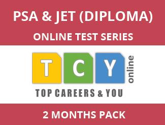 PSA & JET (Diploma) Online Test Series (2 Month Pack)