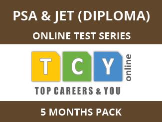 PSA & JET (Diploma) Online Test Series (5 Month Pack)