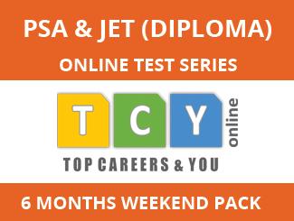 PSA & JET (Diploma) Online Test Series (6 Month Pack, Weekend Pack)