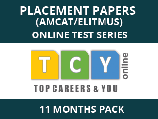 Placement Papers (AMCAT/eLitmus) Online Test Series (11 Month Pack)