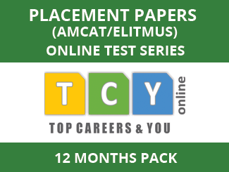 Placement Papers (AMCAT/eLitmus) Online Test Series (12 Month Pack)