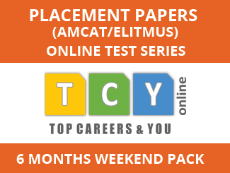 Placement Papers (AMCAT/eLitmus) Online Test Series (6 Month Pack, Weekend Pack)