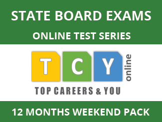State Board Exams Online Test Series (12 Month Pack, Weekend Pack)