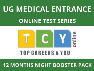UG Medical Entrance Online Test Series (12 Months, Night Booster Pack)