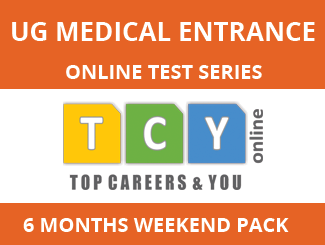 UG Medical Entrance Online Test Series (6 Months, Weekend Pack)