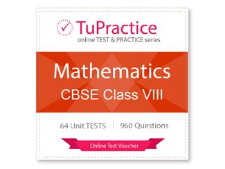 CBSE VIII Mathematics Unit Test