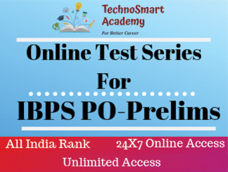 IBPS Prelims PO Online Test Series (English)