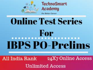 IBPS Prelims PO Online Test Series (English)