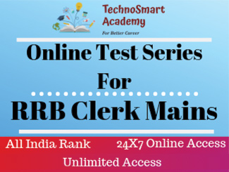 RRB Clerk Mains Online Test Series (Hindi)