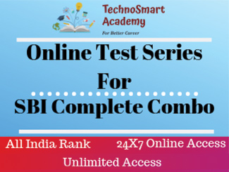 SBI (PO & Clerk) Pre & Mains Combo Online Test Series (English)