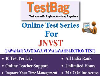JAWAHAR NAVODAYA VIDYALAYA SELECTION TEST Online Test Series 3 Months
