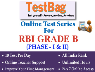RBI Grade B Officer (Phase 1 & 2) Online Test Series (3 Months)