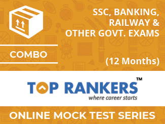 SSC, Banking, Railway & Other Govt. Exams Online Mock Test Series (12 Months)