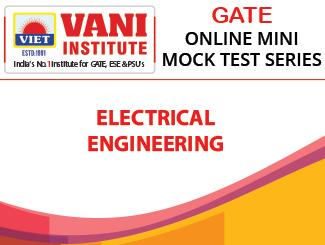 GATE 2020 Electrical Engineering Online Mini Mock Tests Series