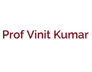 Prof Vinit Kumar