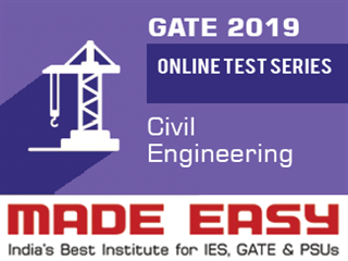 Online test series video lectures books and study material for gate online test series 2019 civil by made easy fandeluxe Gallery